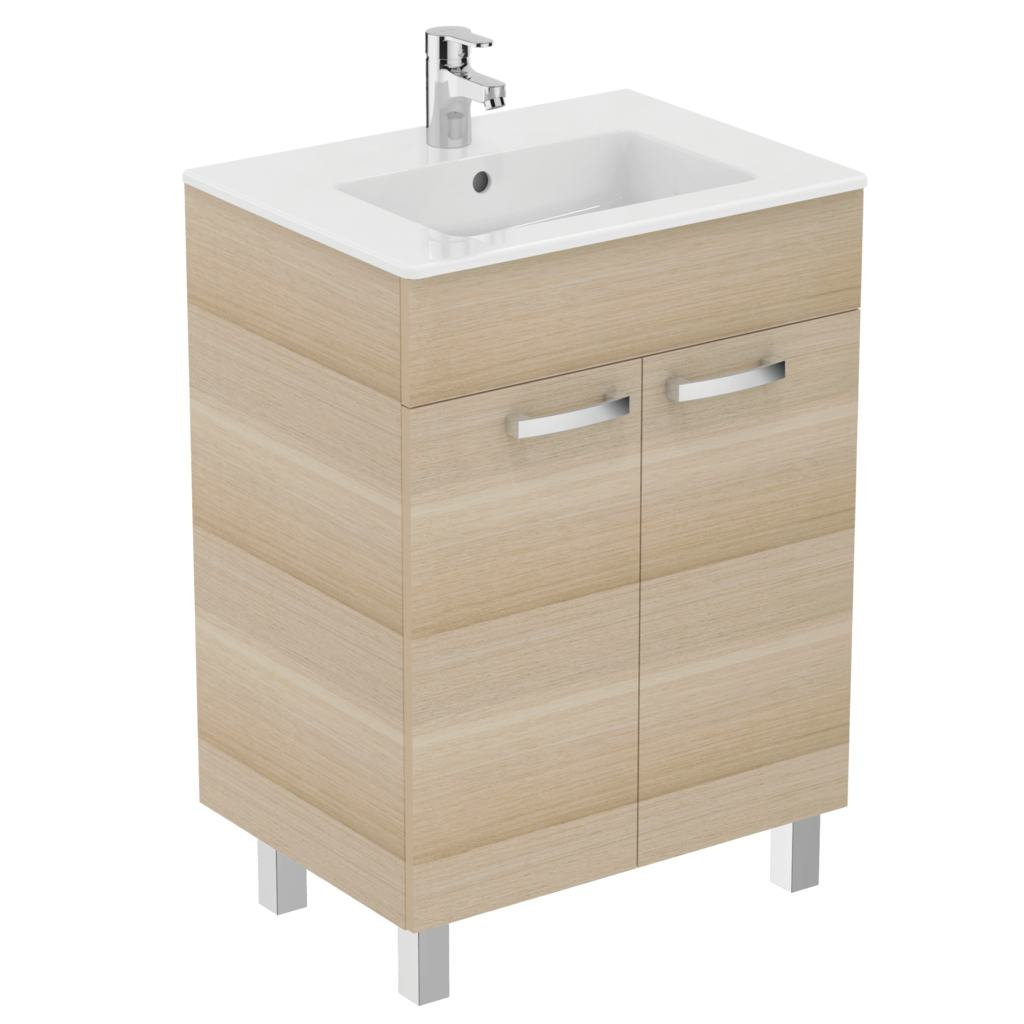 Meuble 60 cmet lavabo plan e3255 for Lavabo plus meuble